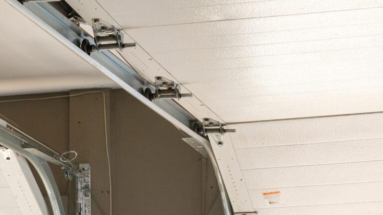 Garage Door Track Adjustment & Replacement