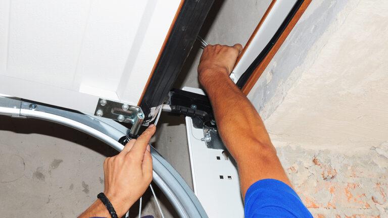How To Loosen Garage Door Chains