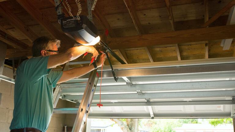 Fixing A Garage Door In Calgary