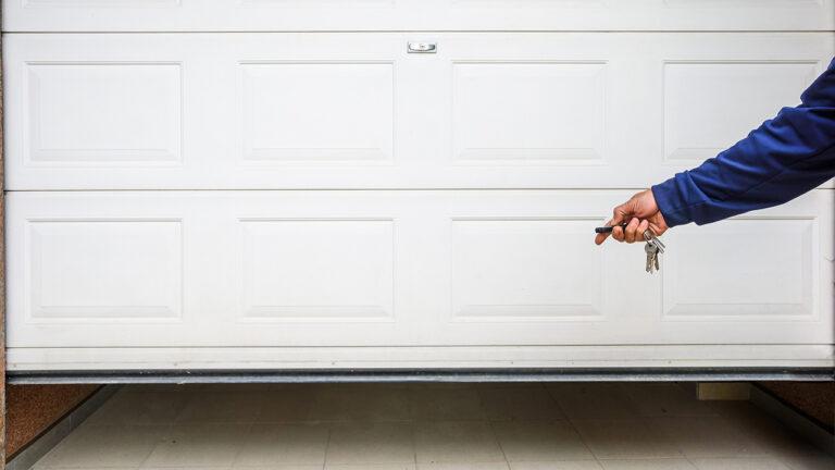 Improve Garage Door Security